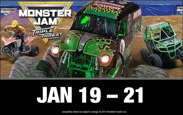 Monster Jam | Hampton Coliseum