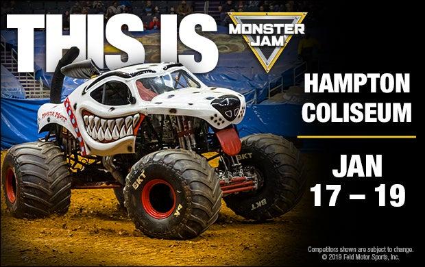 Monster Truck Show 2020.Monster Jam Hampton Coliseum