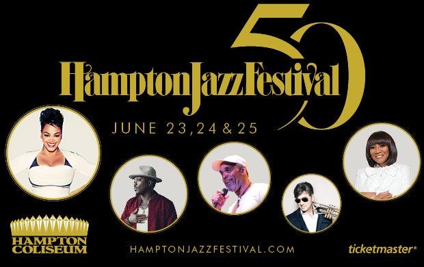 Hampton Jazz Festival 2020 Lineup.50th Annual Hampton Jazz Festival Hampton Coliseum