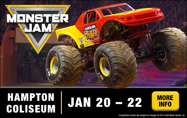 Monster Jam Hampton Coliseum - Hampton coliseum car show